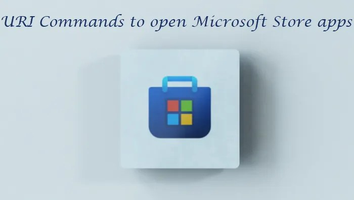 URI Commands to open Microsoft Store apps