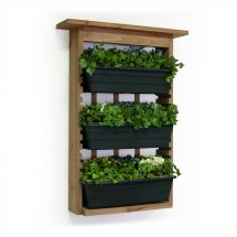 Vertical Gardens With Slide- Planters