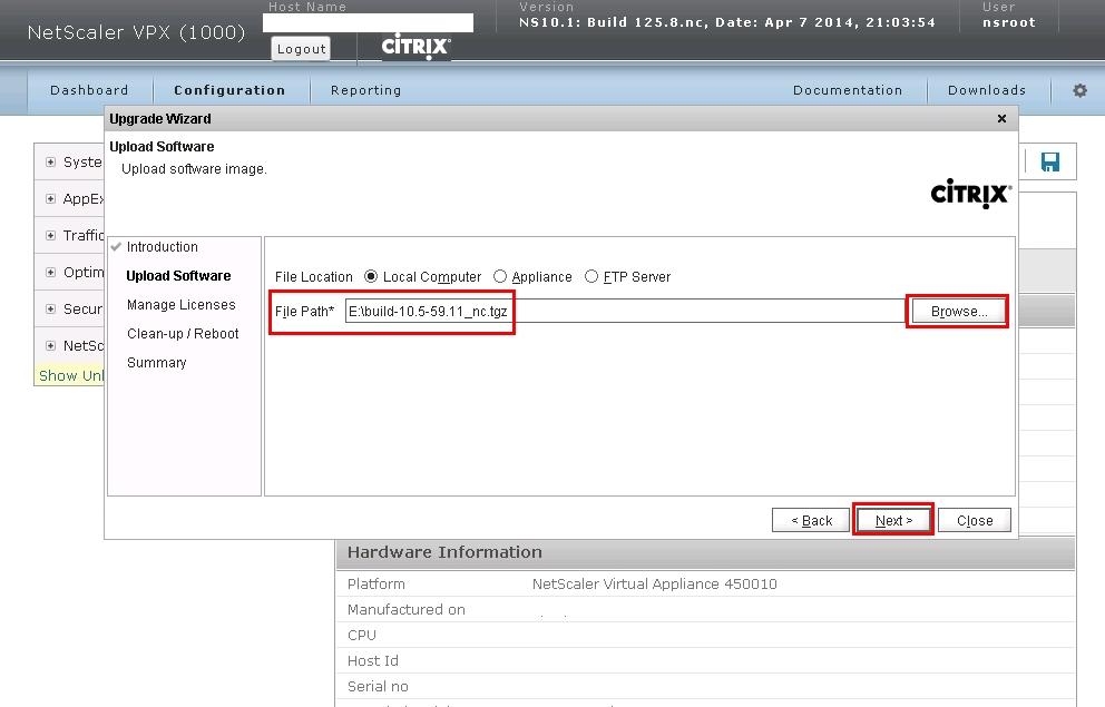 Netscaler 10.1 to 10.5 Upgrade-08