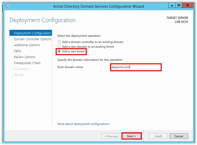 How to Install Active Directory on Windows Server 2012 R2 - 13