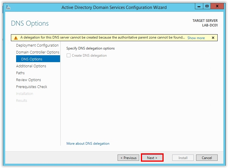 How to Install Active Directory on Windows Server 2012 R2 - 14