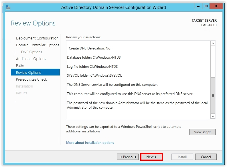 How to Install Active Directory on Windows Server 2012 R2 - 18