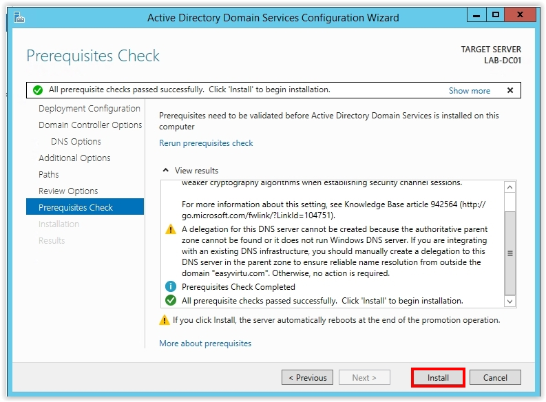 How to Install Active Directory on Windows Server 2012 R2 - 20