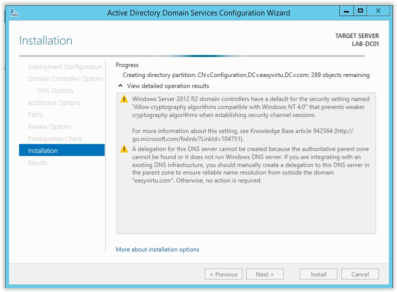 How to Install Active Directory on Windows Server 2012 R2 - 22