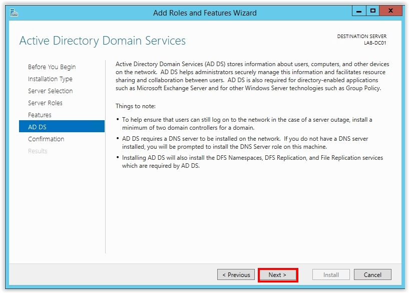 How to Install Active Directory on Windows Server 2012 R2 - 8