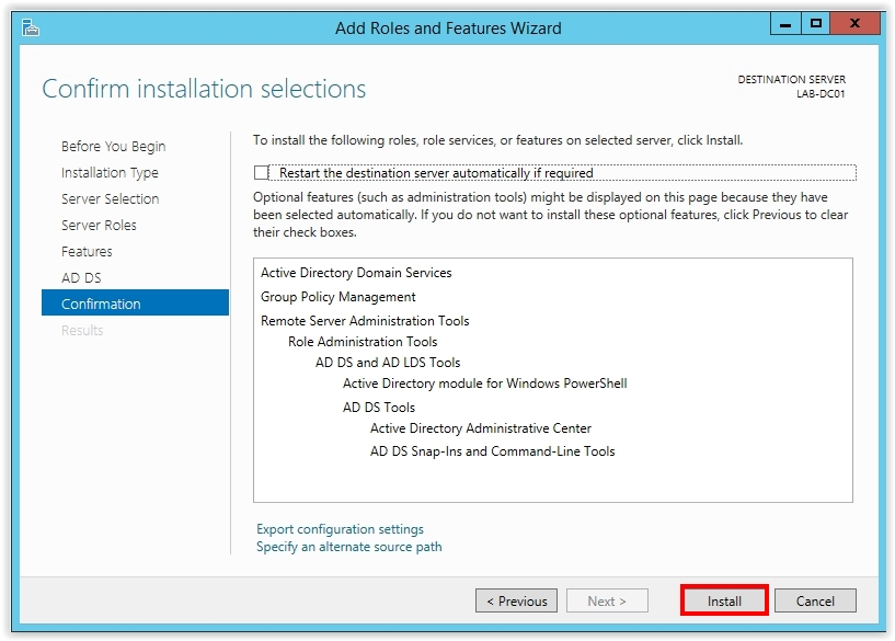 How to Install Active Directory on Windows Server 2012 R2 - 9