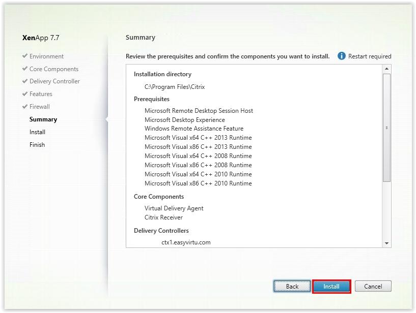 Citrix_XenApp_7.7_Install_Virtual_Delivery_Agent_10