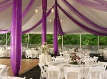Marquee decoration - Articles - Easy Weddings