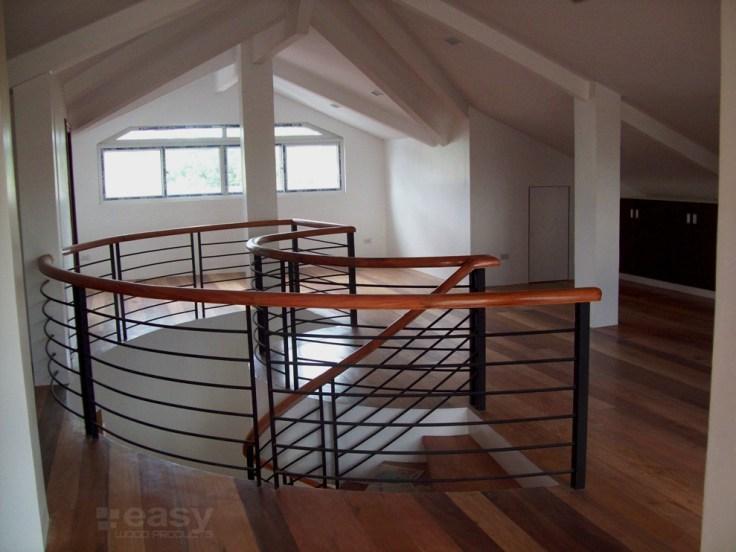Narra Stair (Spiral)