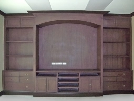 WALK-IN CLOSET, ENTERTAINMENT, OFFICE, AND LIBRARY CABINETS