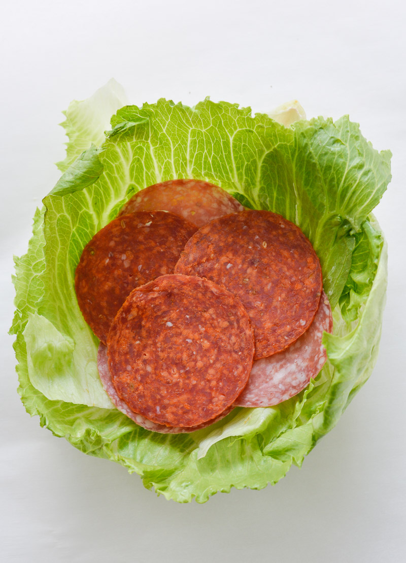 slow carb diet salami