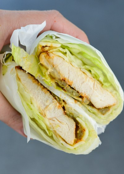 Packed with protein and containing just 3.3 net carbs per serving, this chicken fajita lettuce wrap is the ideal keto-friendly lunch option.