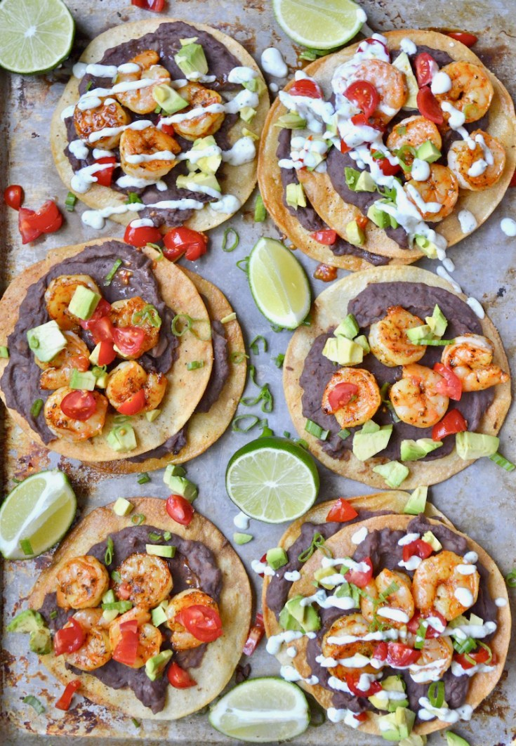 With their combination of Spicy Cajun flavors and creamy avocado, these crispy Shrimp Tostadas are a refreshing way to shake you out of your recipe rut!