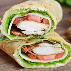 This Chicken Caesar Salad Wrap is just what you need to shake you out of your recipe rut!