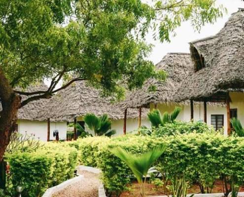 Mawimbi Bungalows struttura