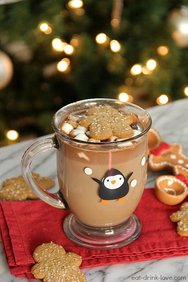 Cute Gingerbread Wallpaper Gingerbread Hot Chocolate Eat Drink Love