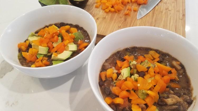 Zesty Vegan Black Bean Stew