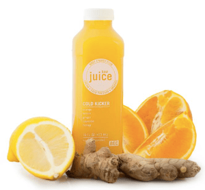 If you don't own a juicer (I do not), look to a juice bar such as Body Energy Club or Whole Foods to purchase fresh, raw and unpasteurized juices.