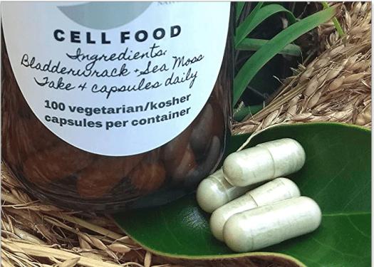 seamoss and bladderwrack capsules