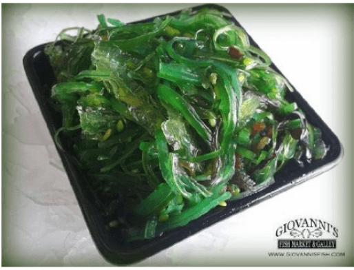 seaweed fresh salad