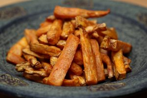 paleo sweet potato chips recipe with coconut oil