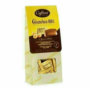 Gianduiotti aux Noisettes et Chocolat 200g