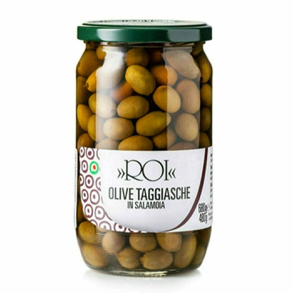 Olives Noires Taggiasche 680g