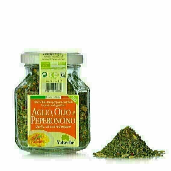 Herbes aromatiques Ail huile et piment 60g