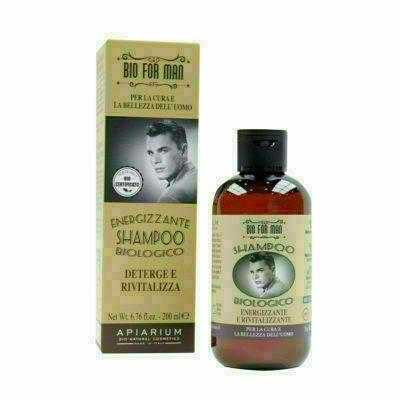 Shampooing Énergisant Bio For Man 200ml