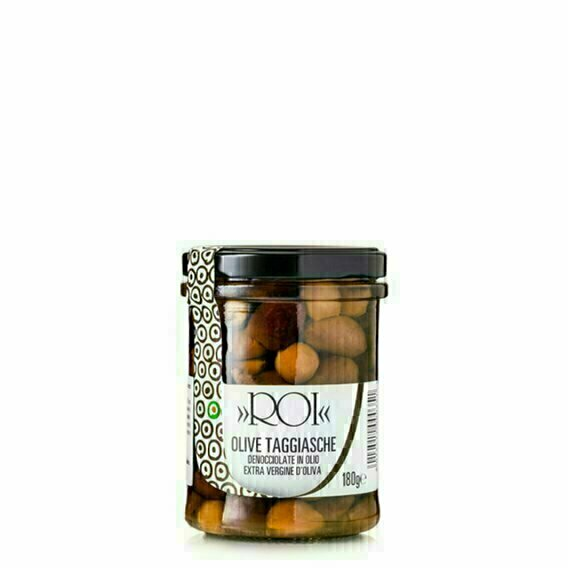 Olives Taggiasche dénoyautées 180g