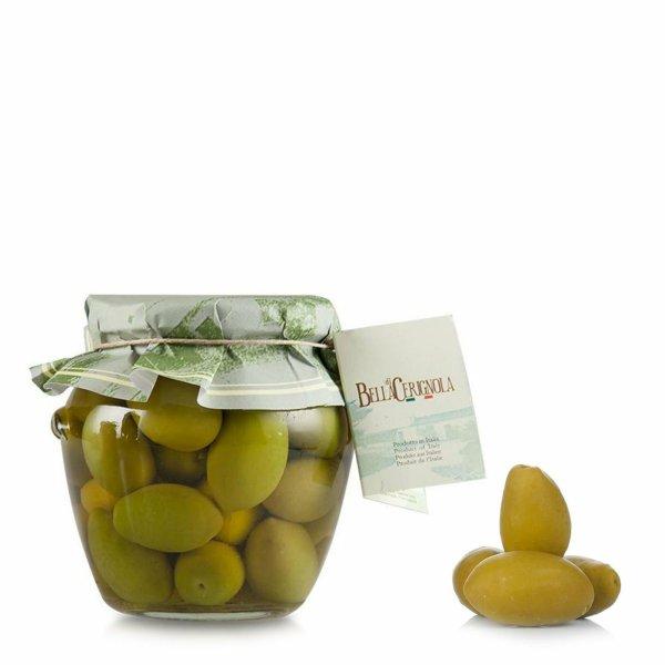 Olives vertes Bella di Cerignola 580g