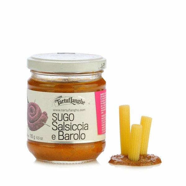 Sauce saucisse et vin Barolo 180g