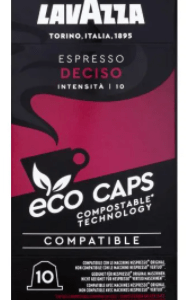 Café Lavazza eco caps espresso deciso 10 capsules