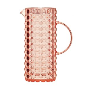 Caraffe Tiffany Transparente Corail