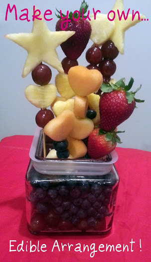 DIY To Try Make Your Own Edible Arrangement