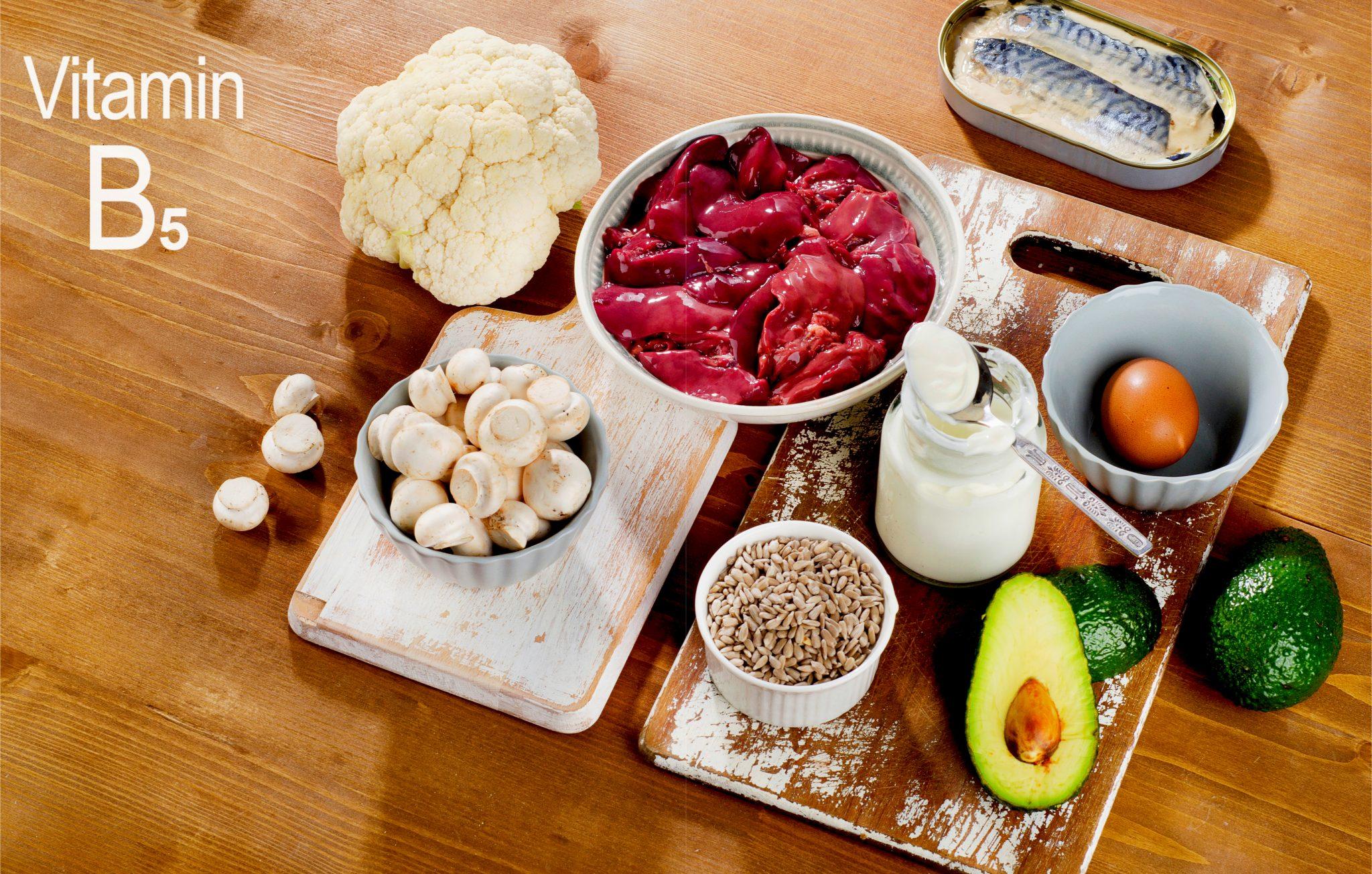 ビタミンB5パントテン酸を含む食べ物