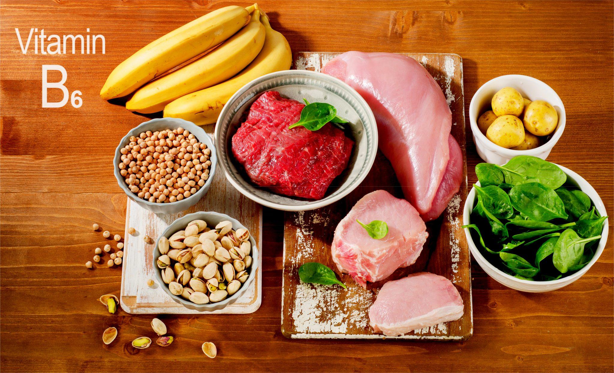 ビタミンB6を多く含む食べ物一覧