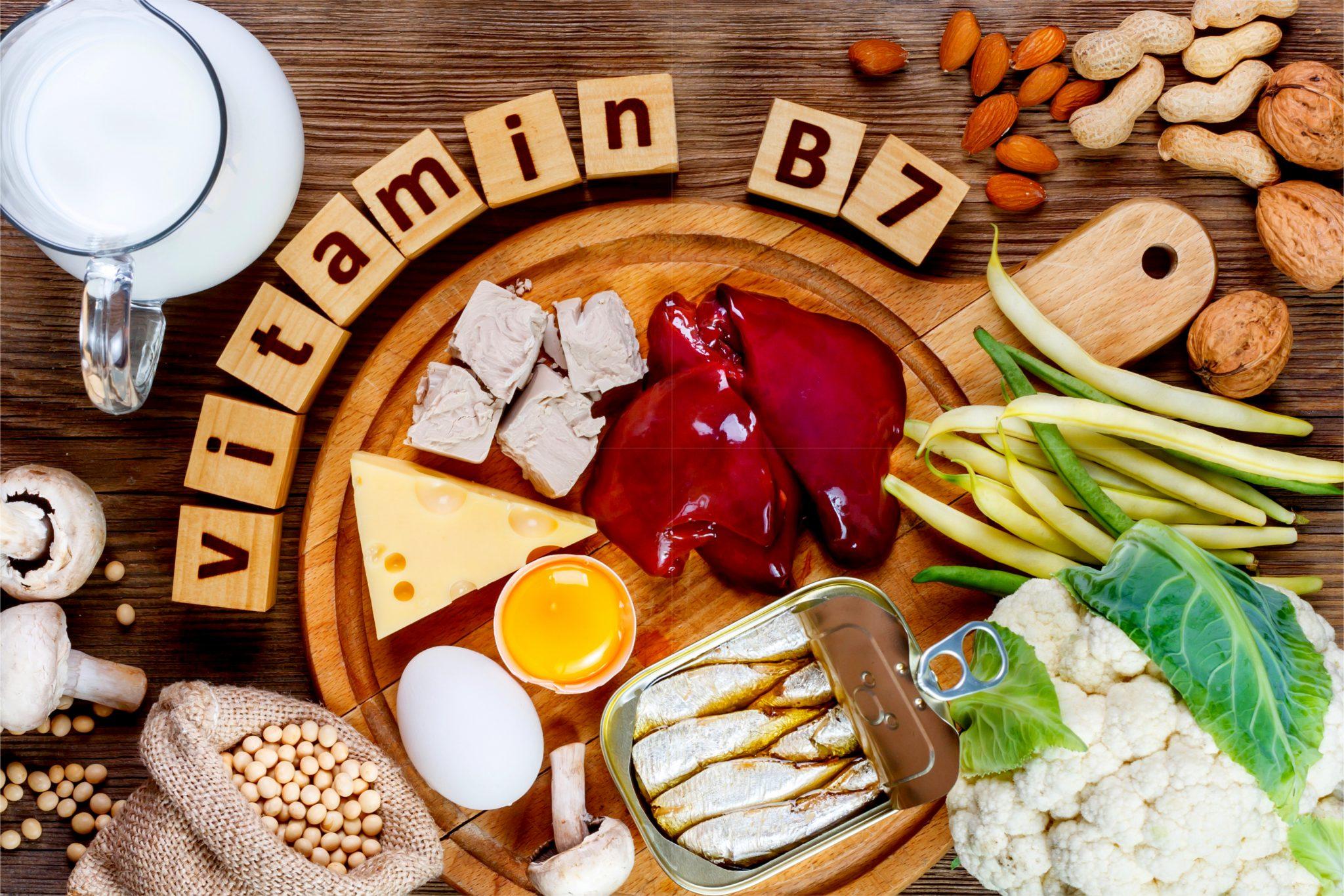 ビタミンB7を多く含む食品一覧