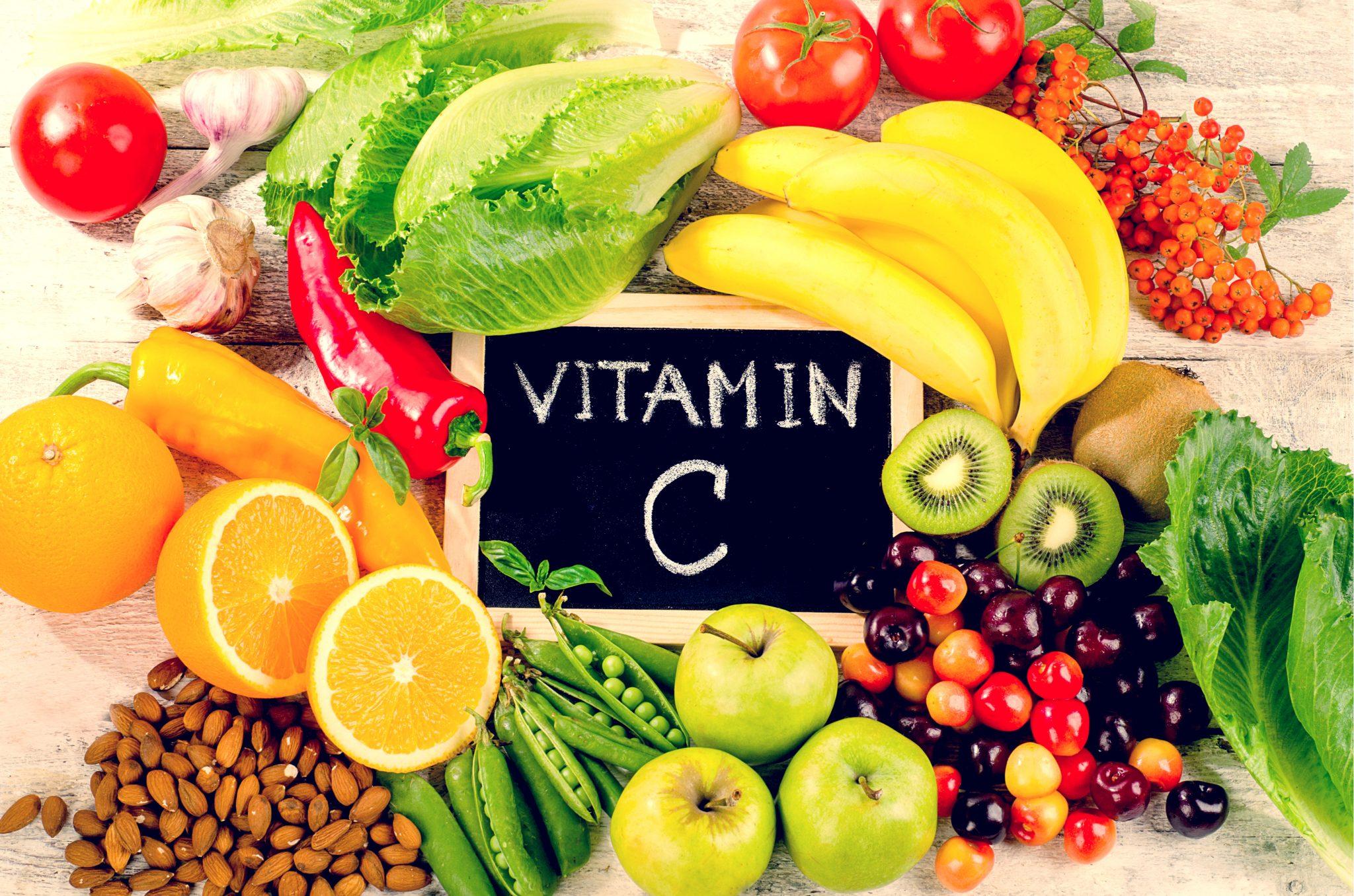ビタミンCを多く含む食品一覧