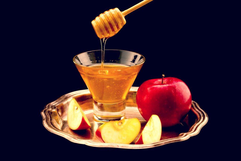 リンゴとハチミツ
