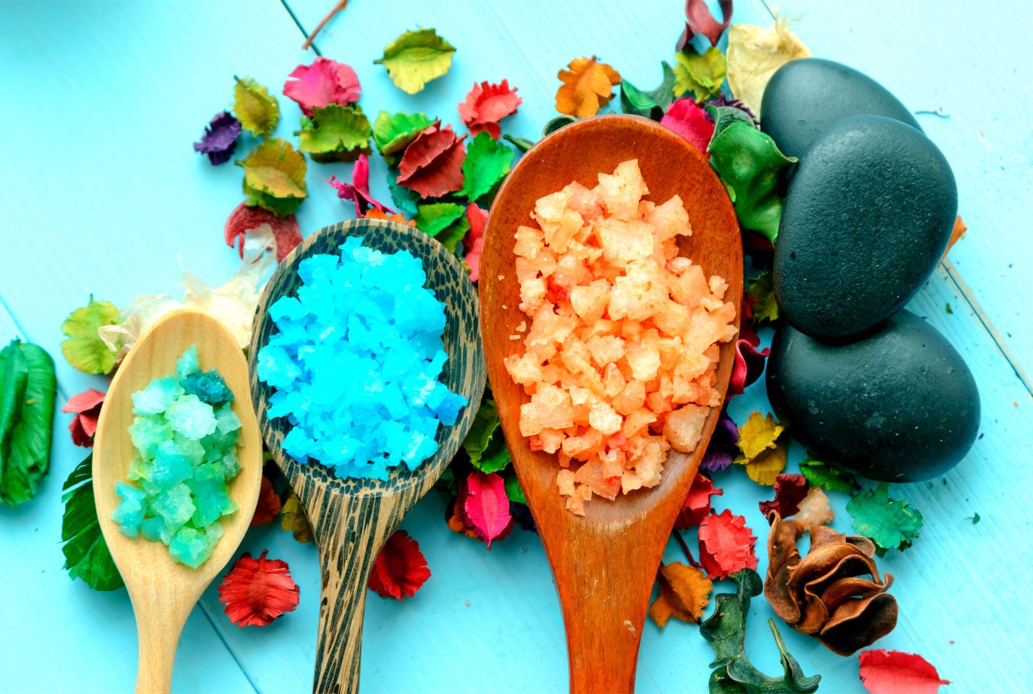 色んな種類の塩