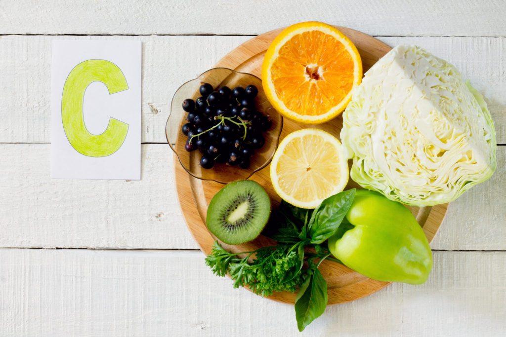 からし菜とビタミンC食材