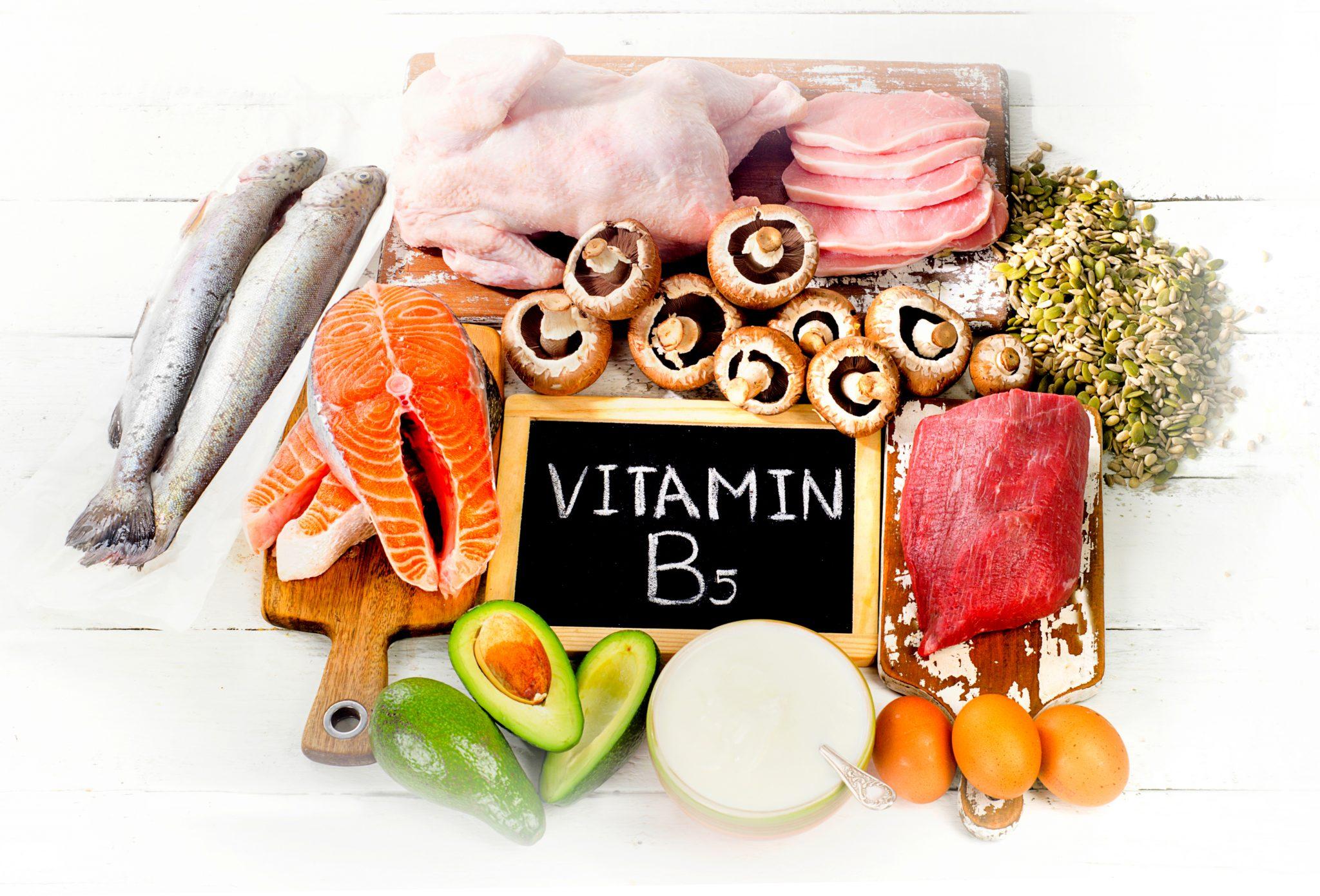 パントテン酸、ビタミンB5
