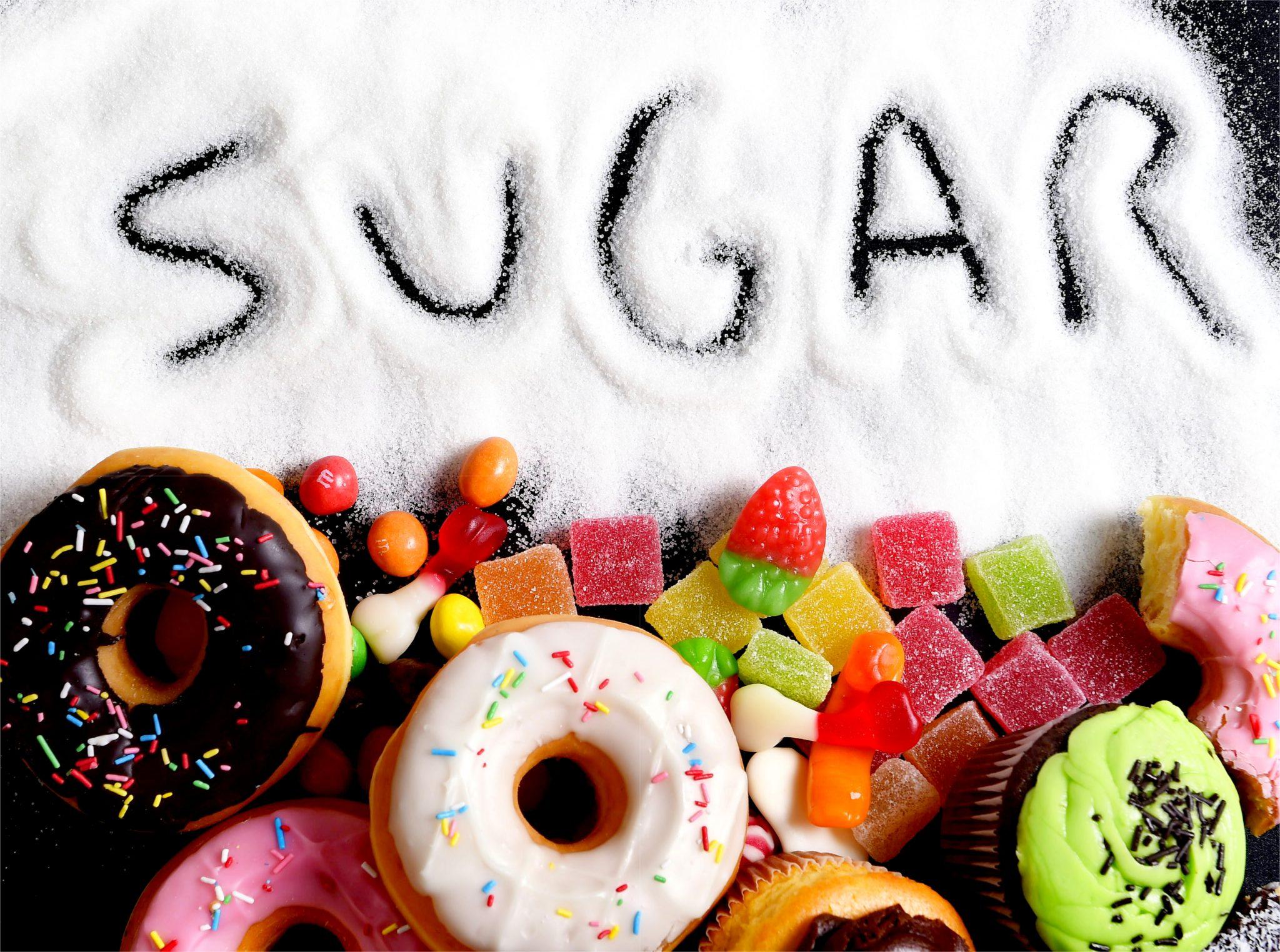 砂糖をいっぱい含む食べ物