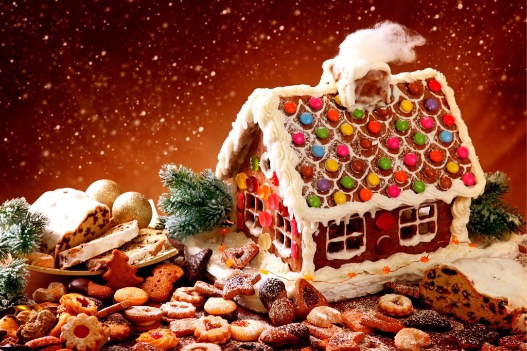 お菓子の家とクッキー