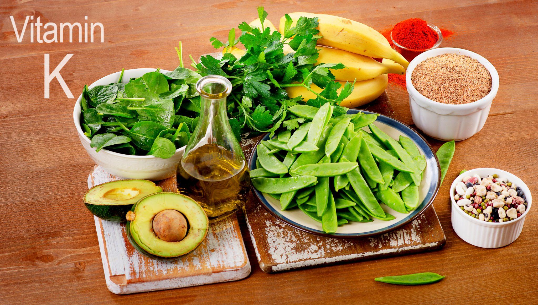 ビタミンKを含む食品一覧