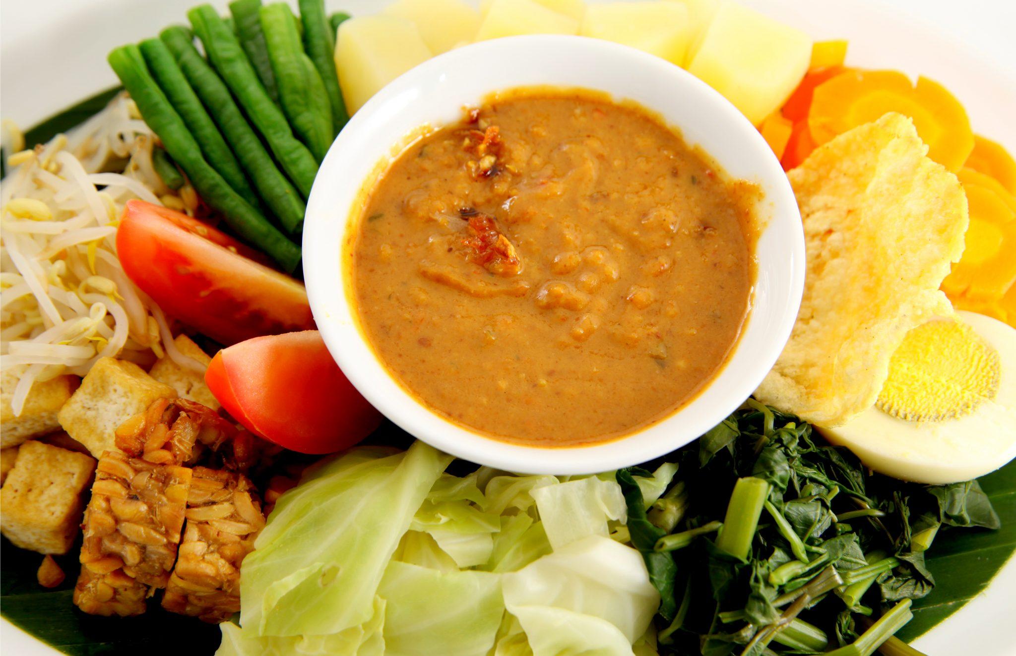 インドネシア料理のガドガド