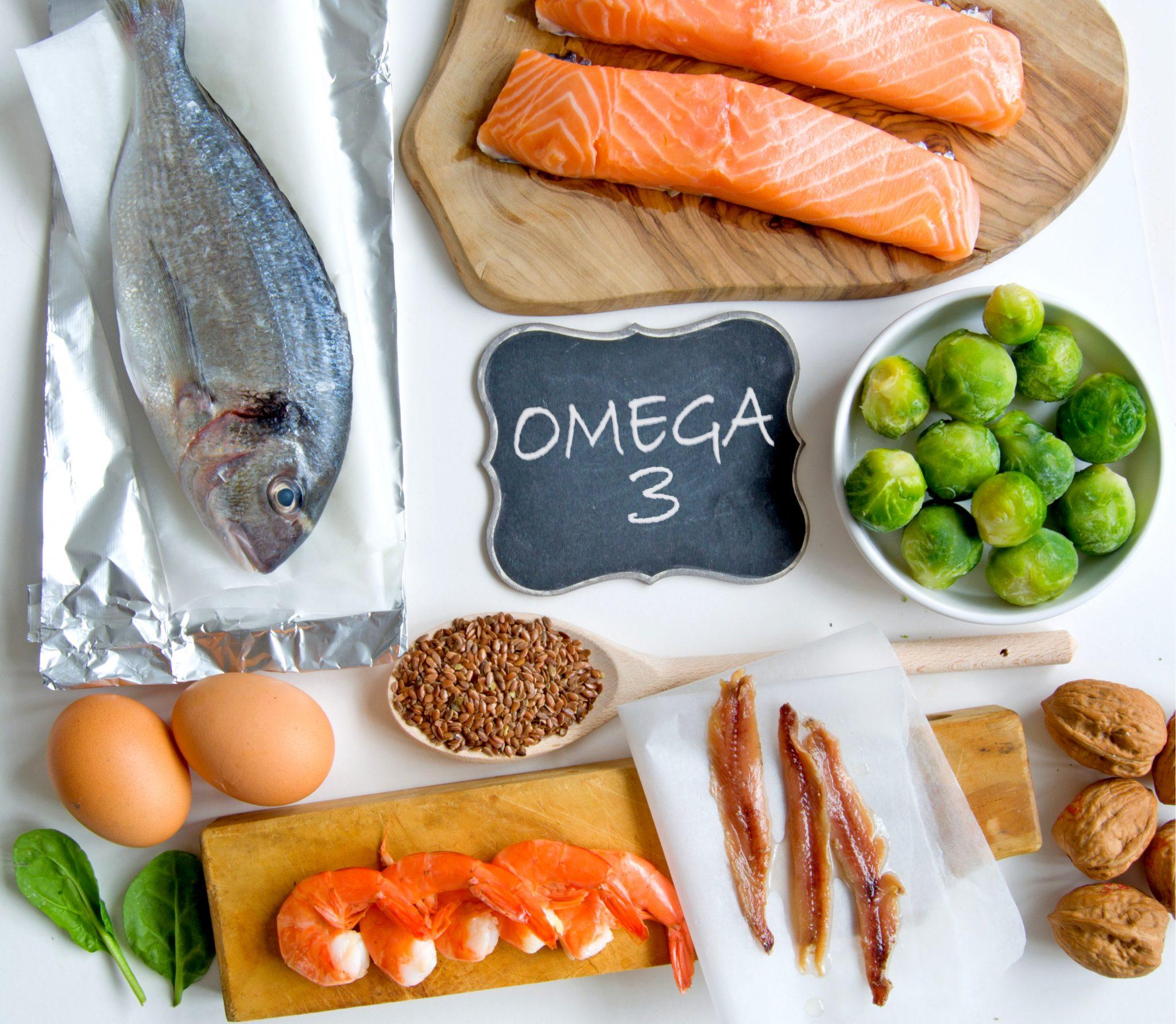 オメガ3脂肪酸を含む食べ物一覧