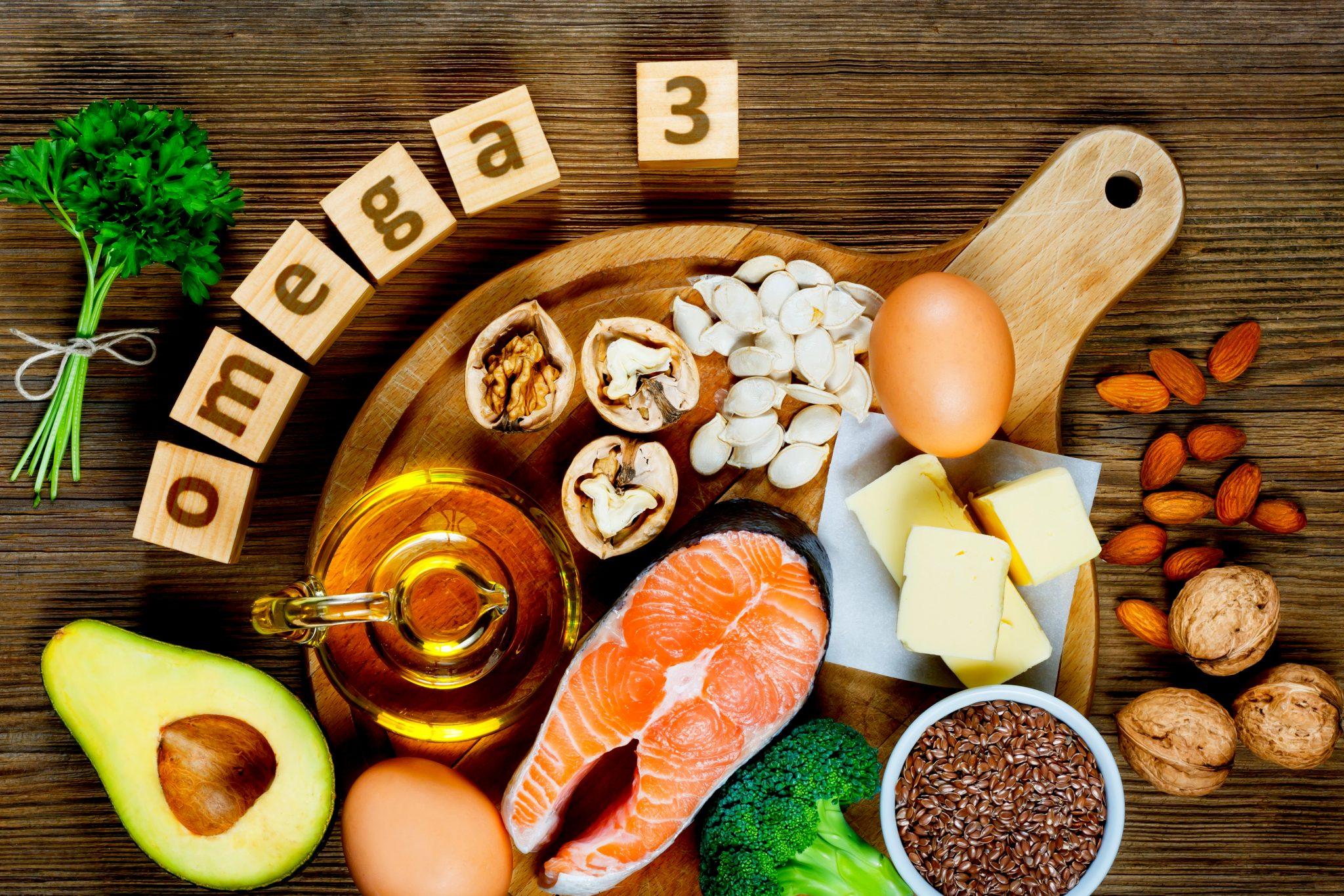 オメガ3脂肪酸を含む食品一覧