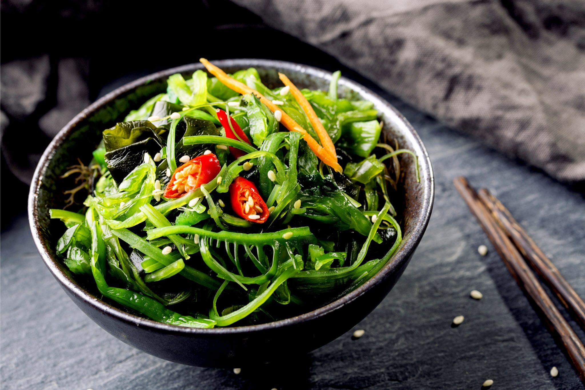 海藻たっぷりサラダ